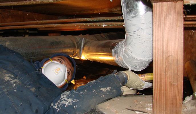 Duct & Air Sealing